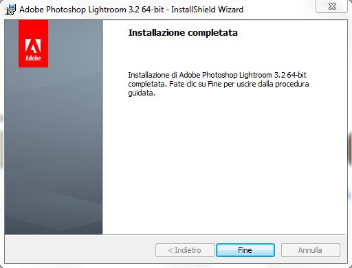 installazione lightroom step 8