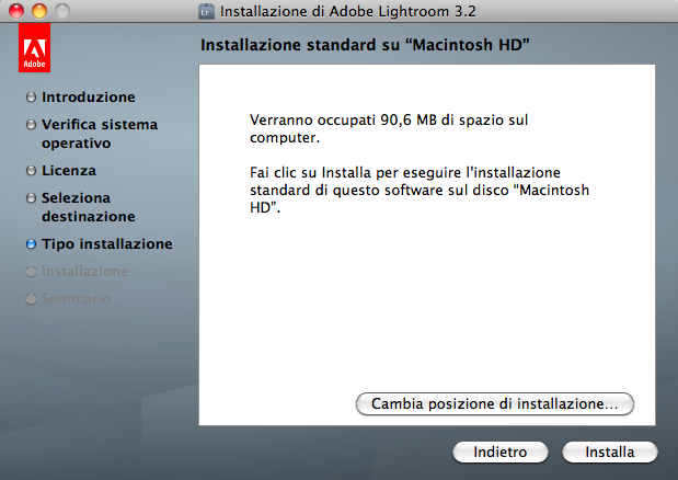 lightroom installazione mac step 5