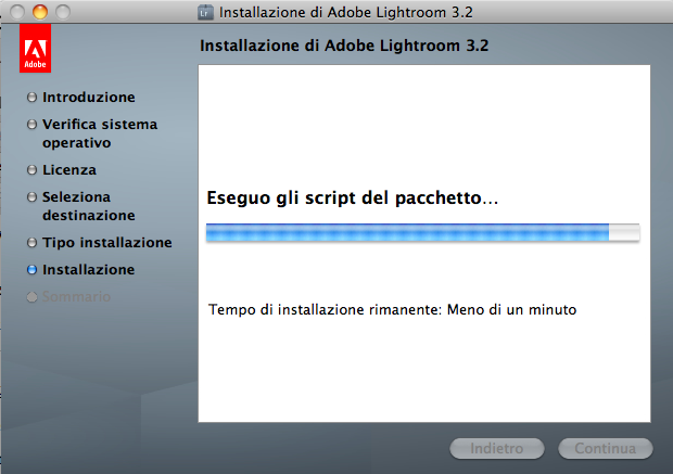 lightroom installazione mac step 7