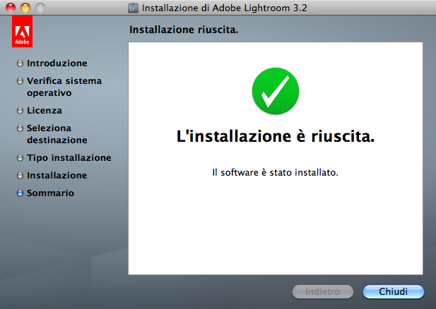 lightroom installazione mac step 8
