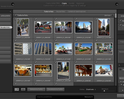 lightroom finestra importazione resize