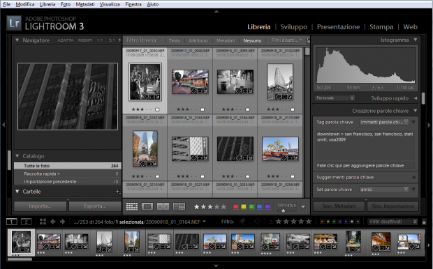 lightroom modulo libreria