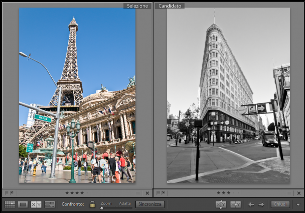 lightroom vista confronto