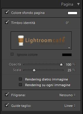 07 lightroom creazione stampe pagina
