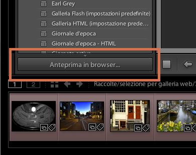 12 lightroom galleria web anteprima browser
