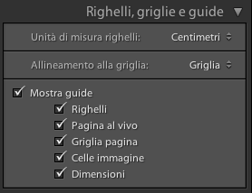 07 lightroom stampa pacchetto personale righelli griglie guide