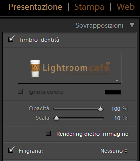 11 lightroom filigrana presentazione sovrapposizioni