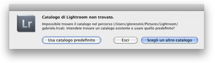 06 lightroom catalogo ripristino ripristinare backup