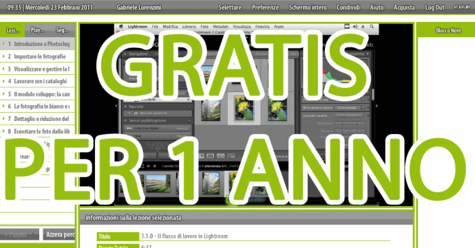 01 lightroom teacher-in-a-box lezionario videocorso contest gratuito