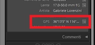 08 lightroom geotag geotagging mappa maps google gps metadati