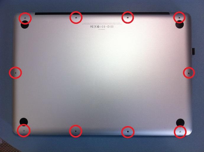 03 lightroom macbook pro apple hard disk ssd montaggio sostituzione prestazioni test guida tutorial
