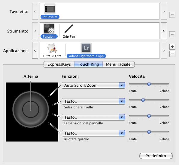 09 lightroom wacom intuos4 configurazione impostazioni personalizzare personalizzazione workflow guida tutorial