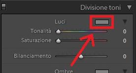 03 lightroom sviluppo divisione toni viraggio seppia cross processing process guida tutorial