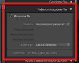 <b>Rinominare velocemente e automaticamente le immagini con Lightroom</b>