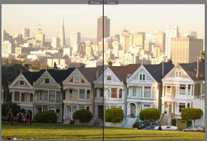 08 lightroom sviluppo pennello regolazione migliorare ritocco foto guida tutorial