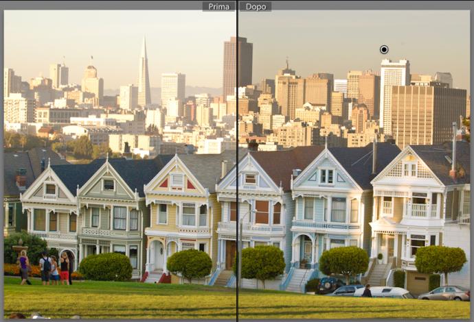 13 lightroom sviluppo pennello regolazione migliorare ritocco foto guida tutorial