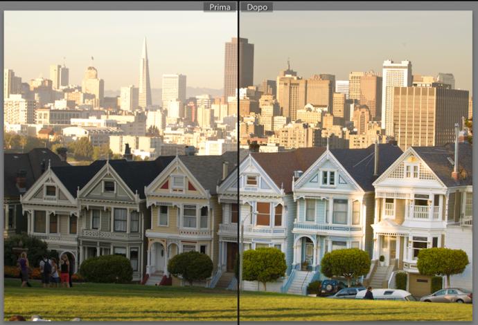 14 lightroom sviluppo pennello regolazione migliorare ritocco foto guida tutorial