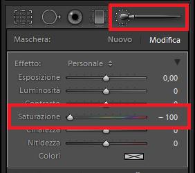 02 lightroom sviluppo pennello regolazione bianco nero colore selettivo maschera automatica guida tutorial forum