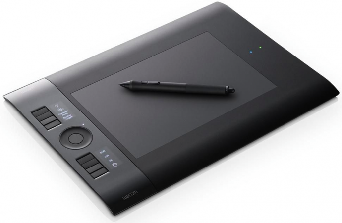 01 recensione wacom intuos wireless wifi bluetooth tavoletta grafica lightroom configurazione installazione