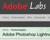 <b>Lightroom 3.5 e Camera Raw 6.5 Release Candidate sono ora disponibili su Adobe Labs</b>