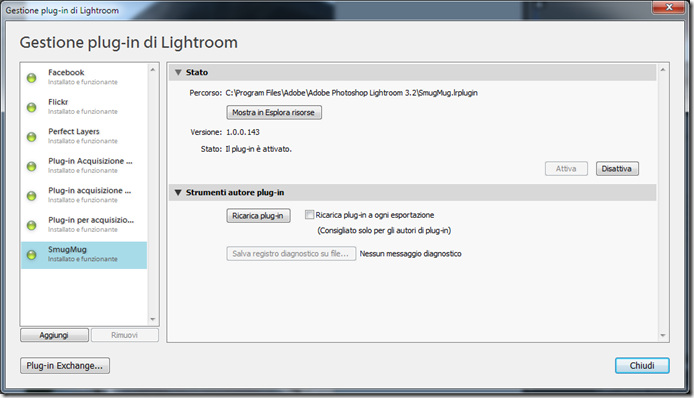 Lightroom plugin TPG LR Backup 01