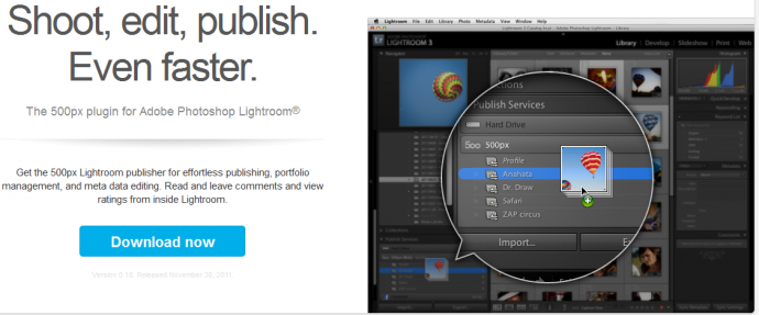01 Caricare in modo pratico e veloce le foto su 500px grazie al plugin per Lightroom