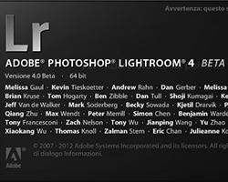 Lightroom 4 è qui! La prima beta pubblica è disponibile per il download