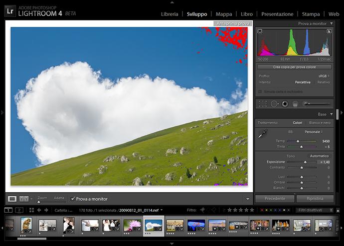 01 lightroom sviluppo prova colore monitor soft proofing profilo stampa stampante intento rendering