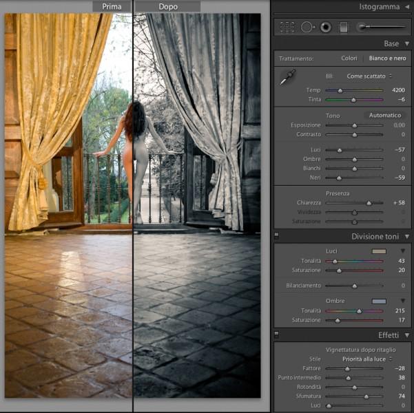 03 lightroom sviluppo 4 beta pannello base guida tutorial italiano gratis gratuito