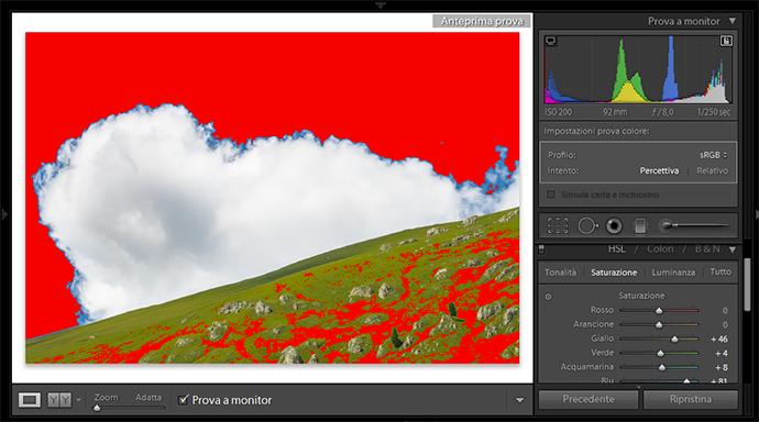 09 lightroom sviluppo prova colore monitor soft proofing profilo stampa stampante intento rendering