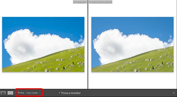13 lightroom sviluppo prova colore monitor soft proofing profilo stampa stampante intento rendering