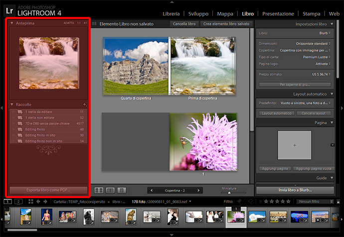 02 lightroom libro burb fotolibro guida tutorial gratuito gratis