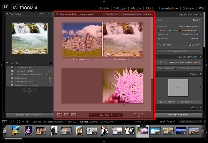 04 lightroom libro burb fotolibro guida tutorial gratuito gratis