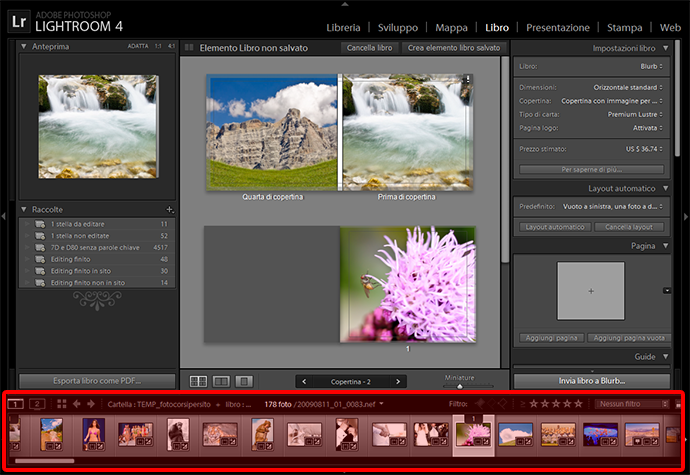 05 lightroom libro burb fotolibro guida tutorial gratuito gratis