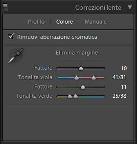03 lightroom aberrazione aberrazioni cromatica cromatiche correggere correzione guida tutorial