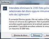 <b>Come annullare le ultime operazioni eseguite in Lightroom? C'è un limite a questa funzione?</b>