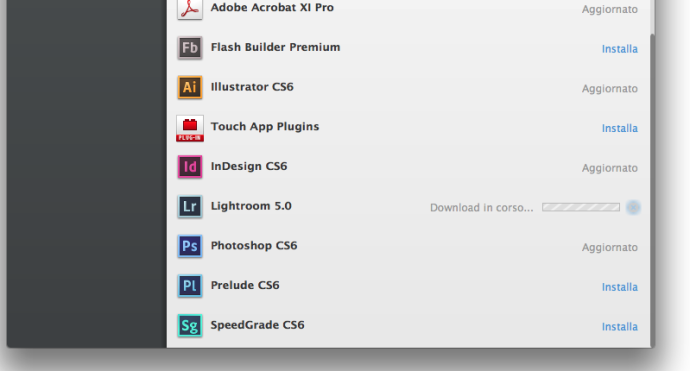 Adobe application manager creative cloud 2