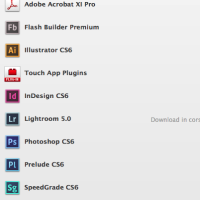 Adobe application manager creative cloud 2 th