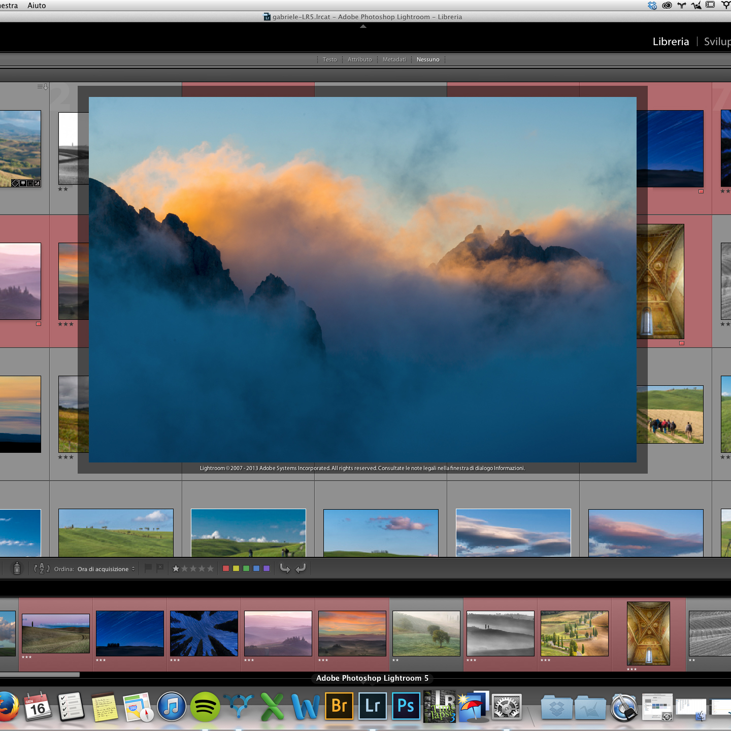 Come personalizzare con una vostra foto la schermata di avvio (splash screen) di Lightroom 5