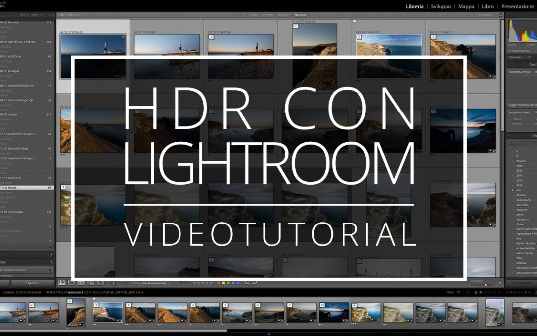 Videotutorial – HDR con Lightroom