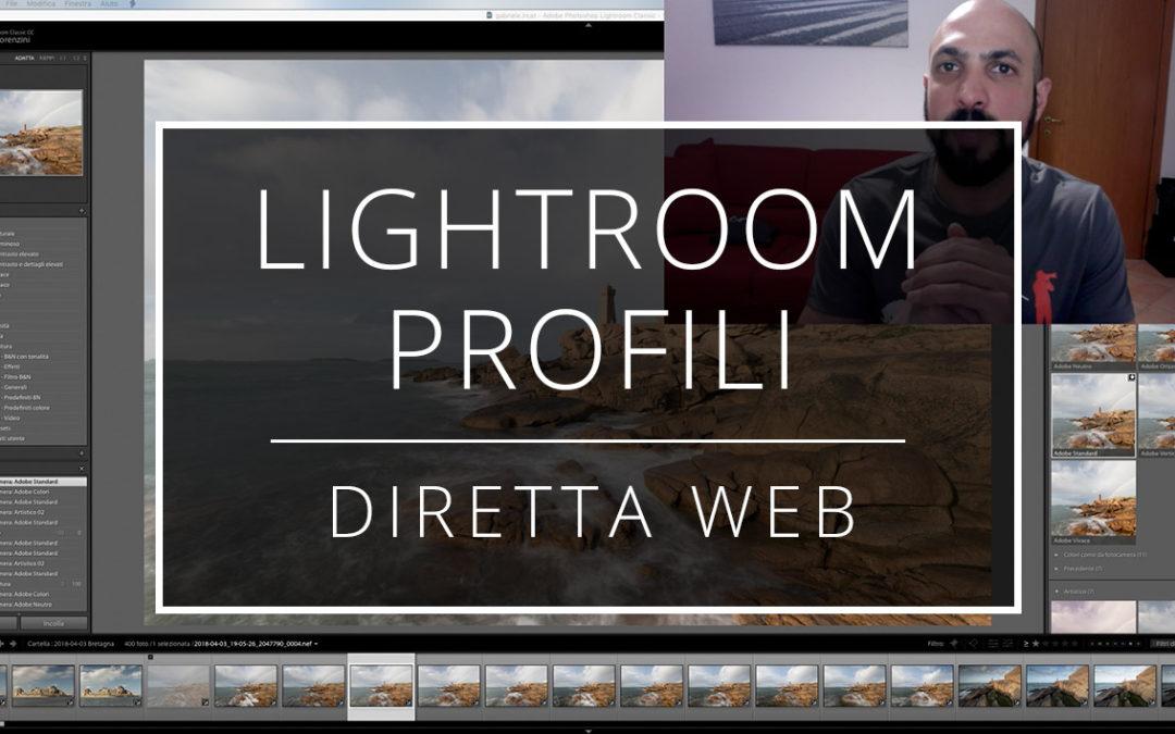 Videotutorial – Nuovi profili di sviluppo di Lightroom